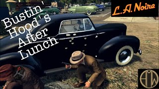 L.A. Noire - Free Roam - Busting Some Hoods After Lunch [HD 720]