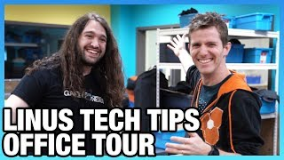 Linus Tech Tips Tour | New Workshop & Industry Discussion