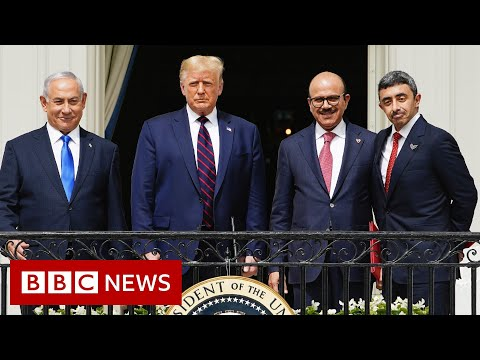 Trump hails 'dawn of new Middle East' with UAE-Bahrain-Israel deals – BBC News