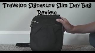Travelon Signature Slim Day Bag | Features