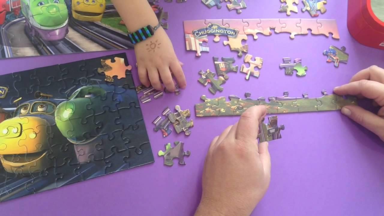 Chuggington: Puzzles de trenes.