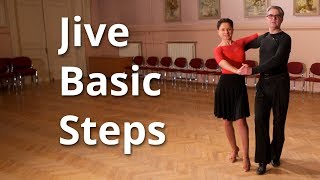 Jive Basic Steps - Dance Routine and Figures