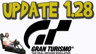 GT Sport - Going over update 1.28 (Fuji)