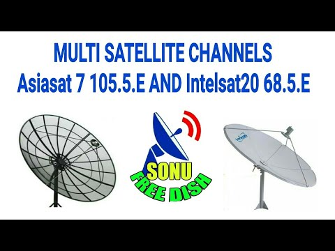 Intelsat 20 at 68 5°E Paksat 1R at 38 0°E KU Band AsiaSat 7