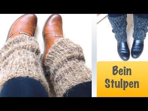 Beinstulpen stricken | Kuschlige Stulpen stricken
