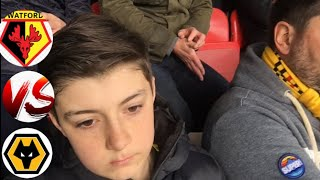 Our European Dreams Are Over Watford 1-2 Wolves Matchday Vlog
