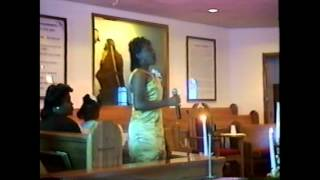 Lord's Prayer sung by Lakeitha and Kristin at 50th Wedding Anniversary.mpg