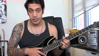 How to play 'A Gunshot To The Head Of Trepidation'  by Trivium Guitar Solo Lesson