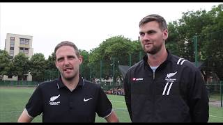 Interview with New Zealand referees