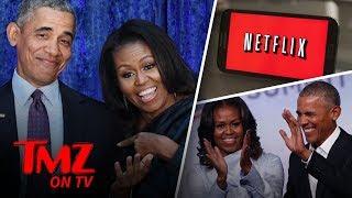 The Obamas Take Netflix | TMZ TV - Video Youtube