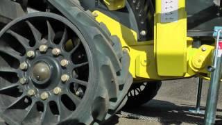 Degelman Dozer Front Mount HQT (Hydraulic Quick Tach) Fit-up 2