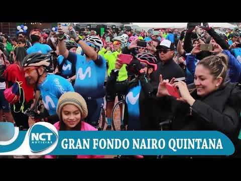 #PrimeraPlanaNctNoticias: Gran Fondo Nairo Quintana