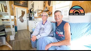 Retired Couple Transitions To A Tiny House To Be Near Family & Live Minimally