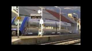 preview picture of video 'Train en gare de Gap'