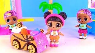 Куклы Лол Мультик! Сюрпризы Одевалки и Авто для Lol Surprise Doll! Игры для девочек