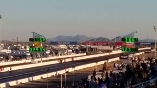 2017 Arizona Nationals Top Fuel Record! Leah Pritchett