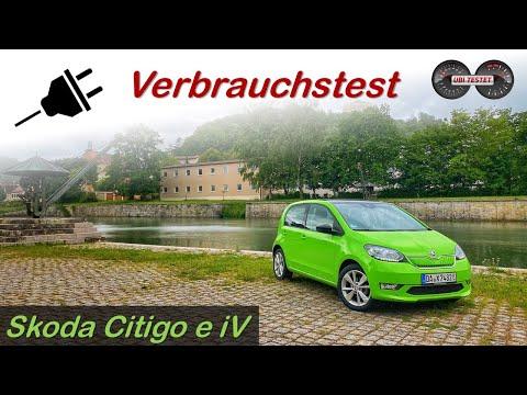 Wie weit kommt der vollelektrische Skoda Citigo?! Skoda Citigo e iV Verbrauchstest | Review - Test