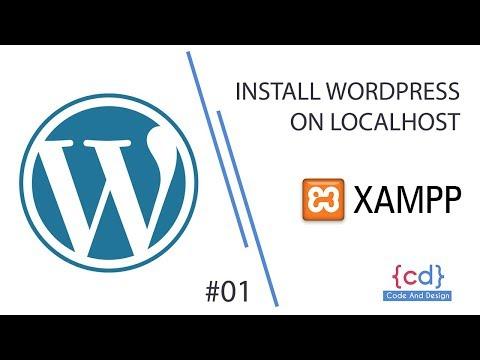 Install WordPress on localhost - xampp Step By Step