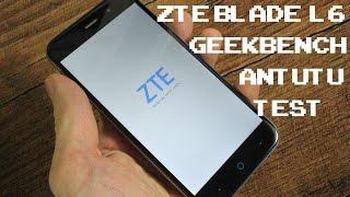 ZTE Blade L6 Antutu 6 (v6.1) & Geekbench Test