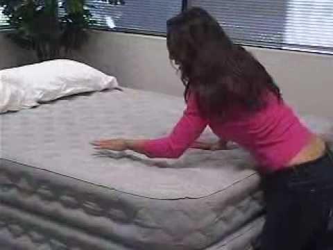 Ремонт надувной кровати INTEX. Ремкомплект.