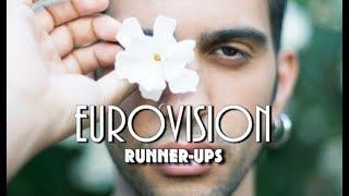 Eurovision All Runner-ups (1957 - 2019)