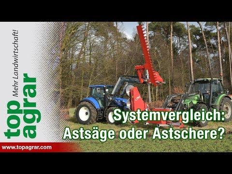 Fliegl Astschere vs. Astsäge: Der top agrar-Systemvergleich