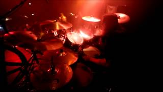 "Nils ""Dominator"" Fjellström - Dark Funeral - Godhate (Drumcam)"