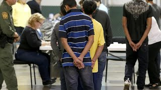 """Young migrant children separated from their parents sent to """"tender age"""" shelters"""