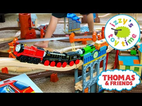 Thomas and Friends | Thomas Train Zip Zoom Log and Wooden Railway with Brio | Toy Trains for Kids