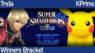 TRTTGC2 Smash Wii U - Trela (Shulk) vs KPrime (Pikachu) - Winners Bracket