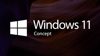 Introducing the new Windows 11 Concept