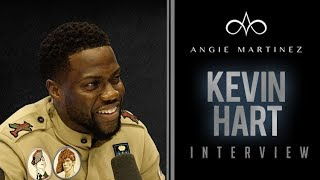 The Angie Martinez Show - Kevin Hart Talks Upcoming Serious Role, The Amazing Will Smith + More