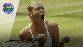 Maria Sharapova vs Serena Williams: Wimbledon final 2004 (Extended Highlights)