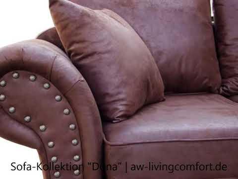 AW Livingcomfort - Bestseller - Kolonialstil Bigsofa