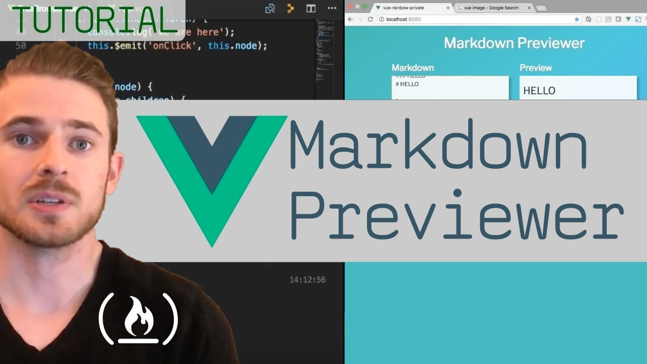 Build a Markdown Previewer with Vue.js
