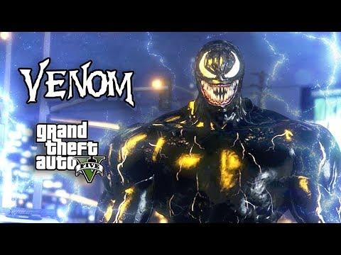NEW* ULTIMATE VENOM MOD!! (GTA 5 Mods) - смотреть онлайн на