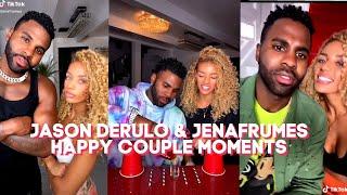 New Jason derulo and jenafrumes happy couple moments tiktok compilation videos2020