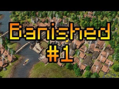 Прохождение на русском Banished #1 [Зарождение нового города]