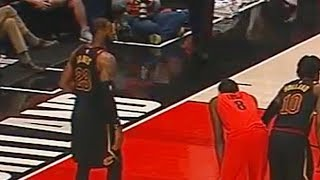LeBron James Shuts Up Hater Asking Him Where Is Kyrie Irving!