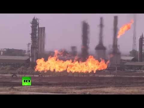 'The eternal fire': Iraq retakes Kirkuk oil fields from Kurds