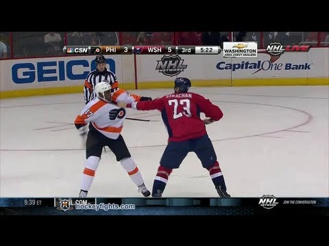 Wayne Simmonds vs Tyson Strachan