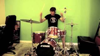 "Appleseed Cast ((DRUM COVER)) - ""Hanging Marionette"""