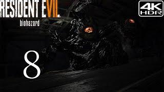Resident Evil 7 Biohazard  Walkthrough Gameplay 8  Mutated Jack 4K 60FPS HDR Madhouse