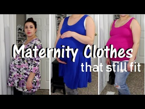 Maternity Clothes That Still Fit : Essentials, First, Second, & Third Trimesters