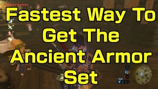 Zelda Breath of the Wild - Fastest Way To Farm The Ancient Armor