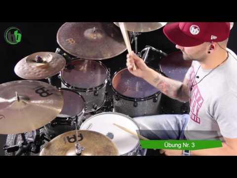 das crash + groove // Schlagzeug lernen für Anfänger