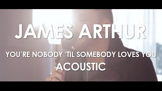 James Arthur - You're Nobody 'Til Somebody Loves You [ Live in Paris ]