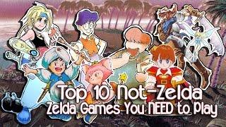 Top 10 Totally Not-Zelda Zelda Clones You Need to Play | Oldschool Edition