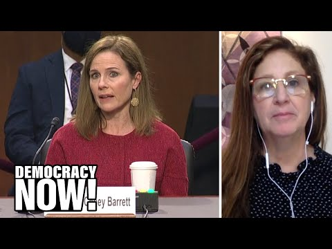"""Dahlia Lithwick: Amy Coney Barrett May Claim Neutrality, But Her Record Is """"Extremely Conservative"""""""