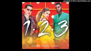 Sofia Reyes - 1, 2, 3 (feat. Jason Derulo & De La Ghetto) [Official Audio]